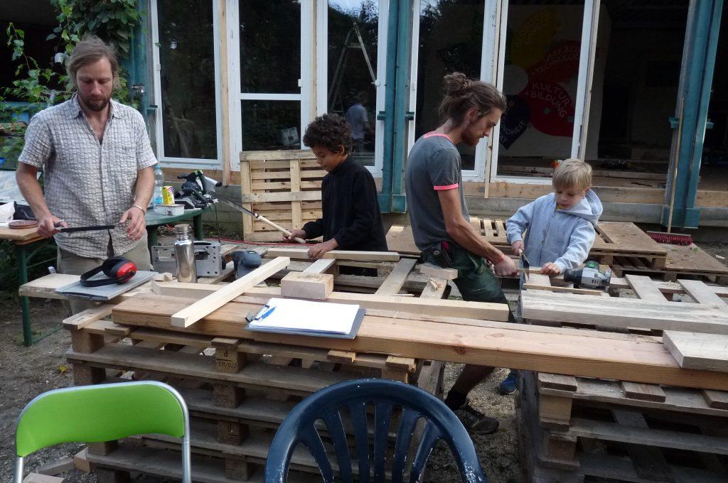 Bauworkshop: Seminarraum