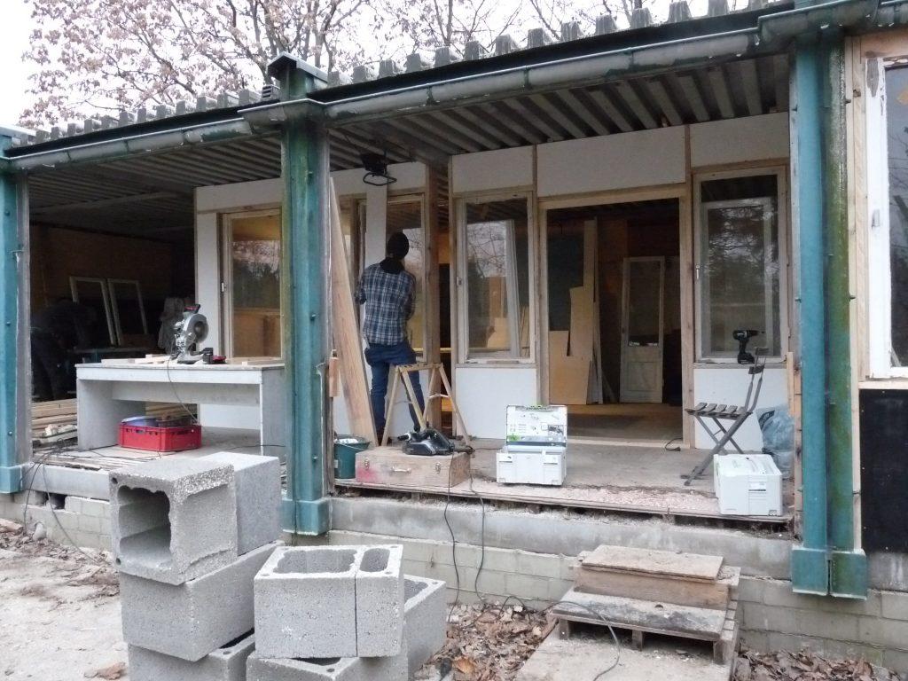 Bauworkshop: Garten- und Nachbarschaftscafé