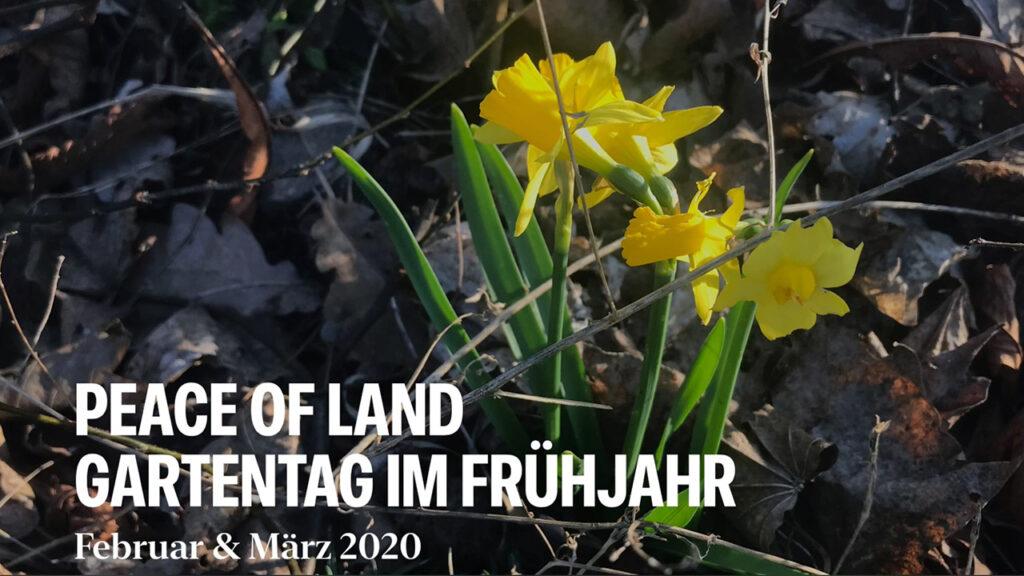 Gartentag März 2020
