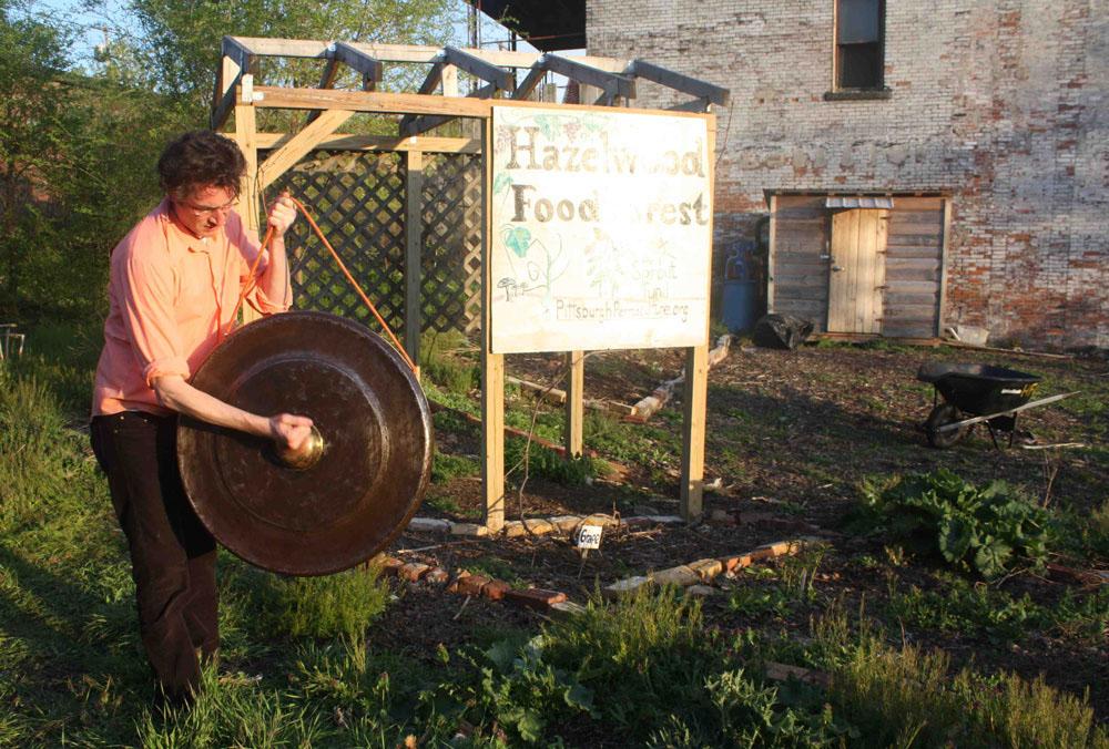 Klangkompost – Klanginstallation und Musikprojekt im Garten